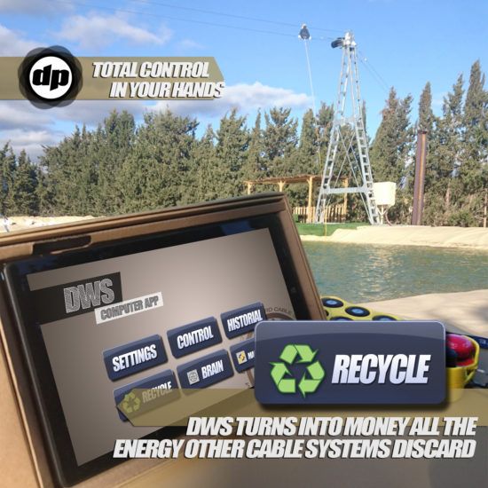 Recycle 2.0 cable park system