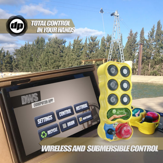 Wireless control cable park